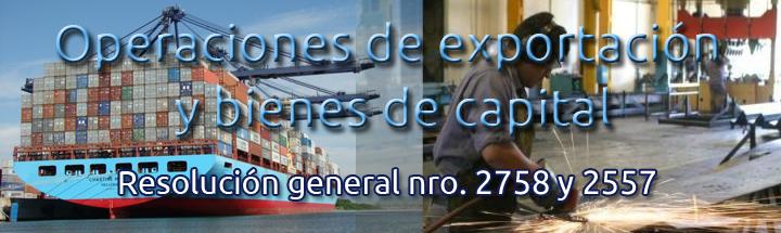 Operaciones de exportacion